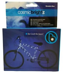 Blue Brightz Ltd L2453 Cosmicbrightz Bike Frame LED Light Kit