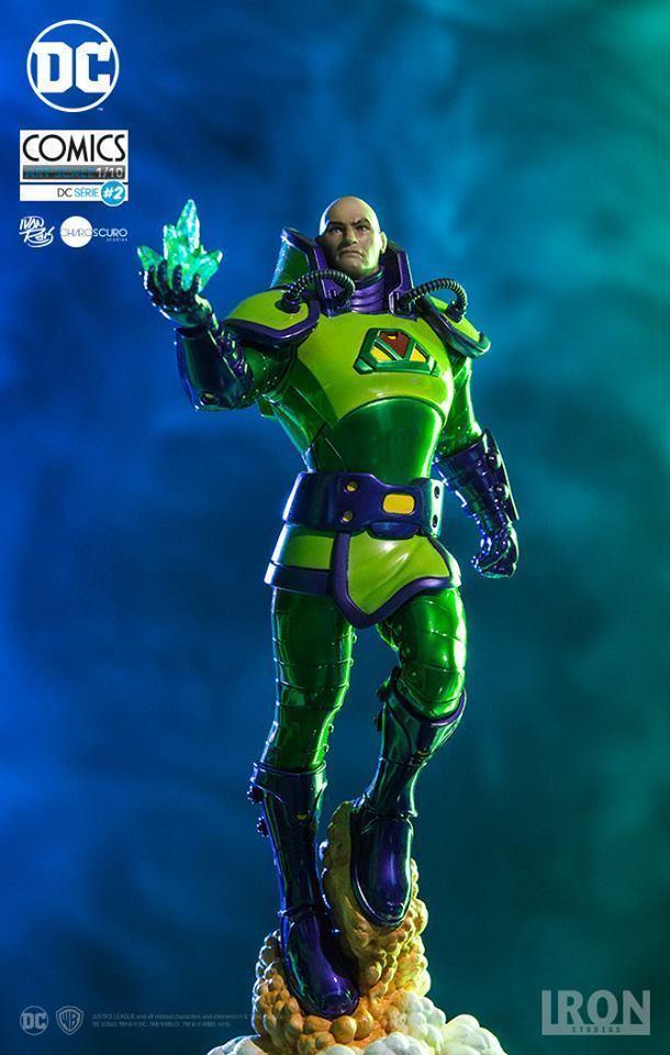 1 10 Acción Figura Lex Luthor Series 2 Art Scale Iron Studios