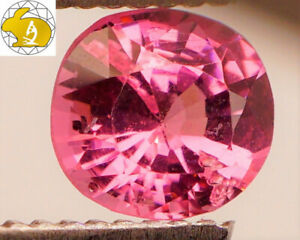 VIVID-amp-GLOWING-Cert-1-18-CT-RICH-Pink-Mahenge-Spinel-FREE-Shipping