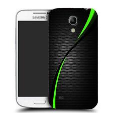 Durable Hard Case Cover for Samsung galaxy S4 mini i9190 - Green Swirl