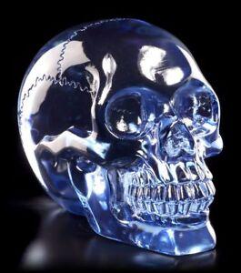 Transparent-Skull-Light-Blue-Skull-Figurine-Skull-Decor-Skull
