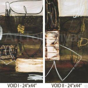 VOID-I-24W-034-x44H-034-and-VOID-II-24W-034-x44H-034-SET-by-WAYDE-OWEN-2PC-CANVAS