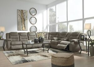 Details About Ashley Furniture Segburg 3 Piece Sectional Living Room Set
