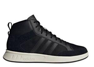 Adidas-COURT80S-MID-EE9679-Nero-Scarpe-Uomo-Sneakers-Sportive
