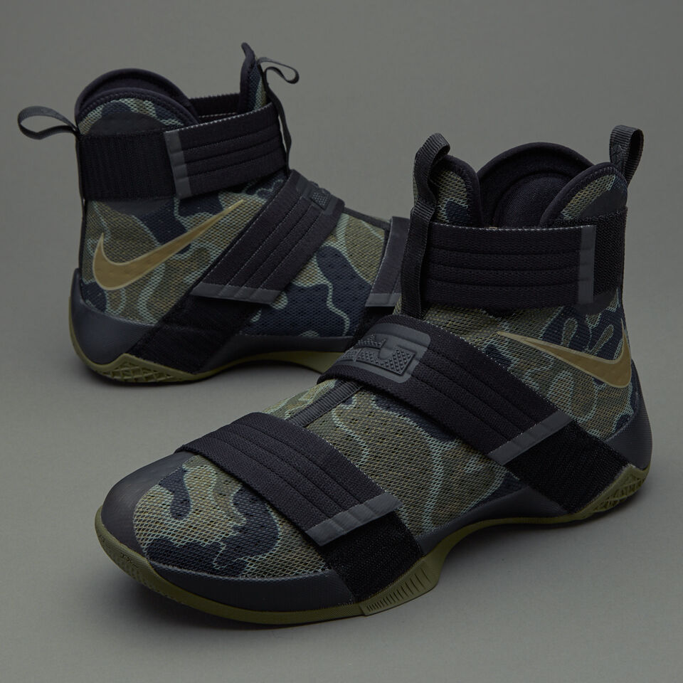 Nike LeBron Soldier 10 SFG Army Camo Size 11. 844378-022 Kyrie cavs mvp finals