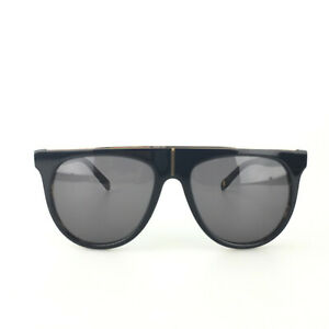 3df780fd47a Balmain Sunglasses mod. BL 2105 C01 Brown Tortoise Flat Top Made in ...