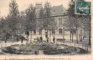 CPA-59200-Tourcoing-Saque-Hotel-City-amp-Academy-Music-Edit-Ll-ca1910