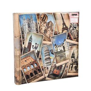 Large Vintage EuropeanTravel Memo Photo Album for 200 Photos 4' x 6'- FB200 696579462679