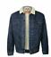 Levis-Sherpa-Jacket-Denim-Trucker-Jackets-Black-Blue thumbnail 2