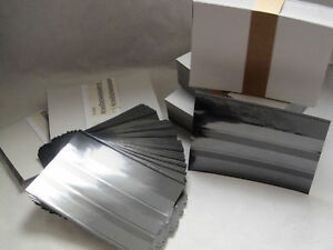 500-Leuchtturm-Einsteckkarten-C6-mit-3-Streifen-und-Deckblatt