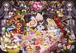 Tenyo Jigsaw Puzzle D-1000-495 Alice in Wonderland Tea Party 1000 Pieces Japan 4905823944950 | eBay
