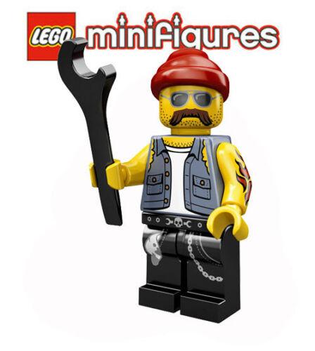 Lego ® minifiguras 71001 serie 10-moto-mecánico