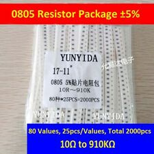 0805 Smd Resistor Assort Kit And 0805 Smd Resistor Samples Book 51