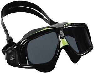 bac935decb Aqua Sphere Seal 2.0 Smoke Lens Swim Goggle 175150 Black   Green for ...