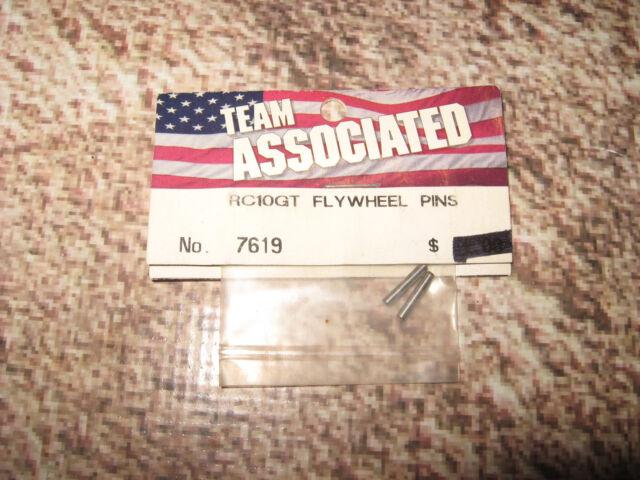 Vintage RC Associated RC10GT Flywheel Pin Pins (2) 7619