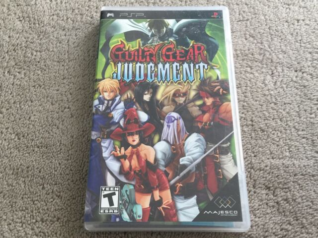 Sony PSP Game - Guilty Gear: Judgment - Free Postage