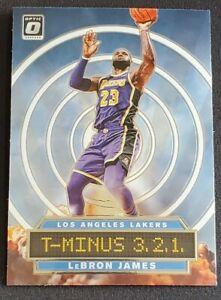 2019-20 Donruss Optic LeBron James T-Minus 321 Insert - LA Lakers