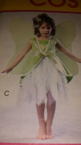 NIP McCALLS COSTUMES FAIRY WITH WINGS PATTERN M4887 GIRL/'S 6,7,8 FF UNCUT