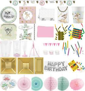 Tischdecke Geburtstags-Party Mädchen Bambi
