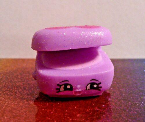 Shopkins MINDY MIRROR Purple Glitter Glamour Squad Exclusive Mint OOP