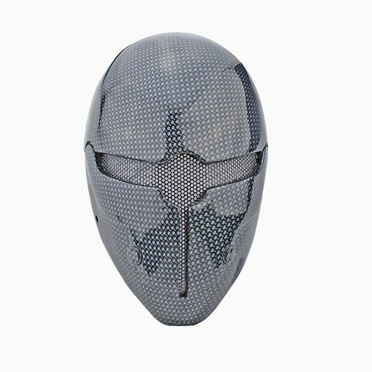 NEW Paintball Airsoft Wire Mesh Full Face Predection Robot Halloween Mask M028