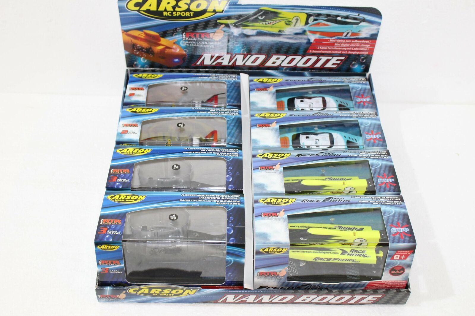 Carson 500709023 nano botes 8er display 4 veces ordena