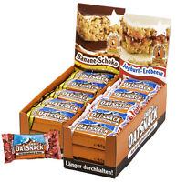 Energy Oat Snack Karton 30 Riegel 65g + Bonus 14 Sorten / Auch Mischbar