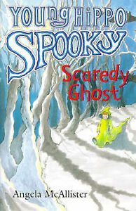 Scaredy-Ghost-Young-Hippo-Spooky-S-McAllister-Angela-Very-Good-Book