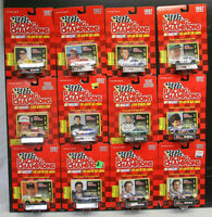Racing Champions 1997 Nascar 12 Assorted Diecast Stock Cars 1:64