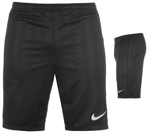 nike herren trainingshose kurze hose sporthose fussballhose s m l xl xxl black ebay. Black Bedroom Furniture Sets. Home Design Ideas