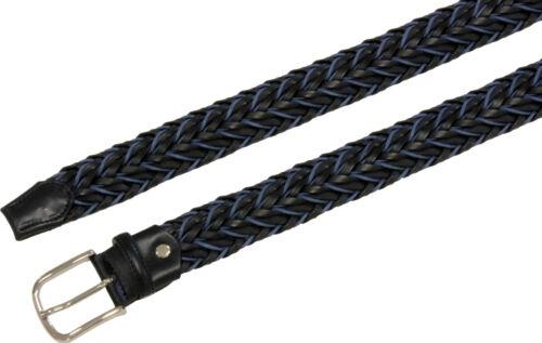 Cintura intrecciata in stringa pelle 35 mm