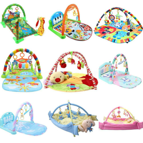 9 Type Baby Kid Playmat Play Musical Pedal Piano Activity Soft Fitness Gym