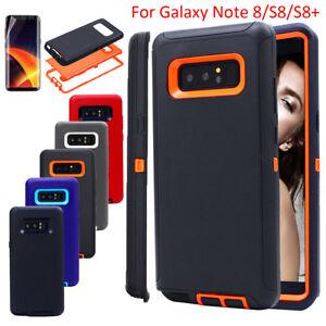 Samsung-Galaxy-Note-8-S8-phone-case-shockproof-Armor-Hybride-en-caoutchouc-dur-Housse