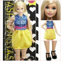 Barbie Fashionistas Doll 22 Chambray Chic - Curvy Nice Gift