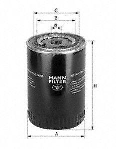 Oil Filter MANN-FILTER W930/21