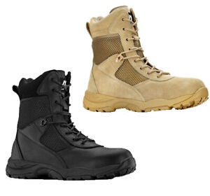 "Maelstrom LANDSHIP 2.0 8"" Men's Tactical Boots w/Side Zip"