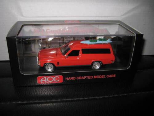 1//43 ACE Mad Max  HOLDEN HJ CUSTOM PANEL VAN MOVIE CAR FREE INTERNATIONAL  POST