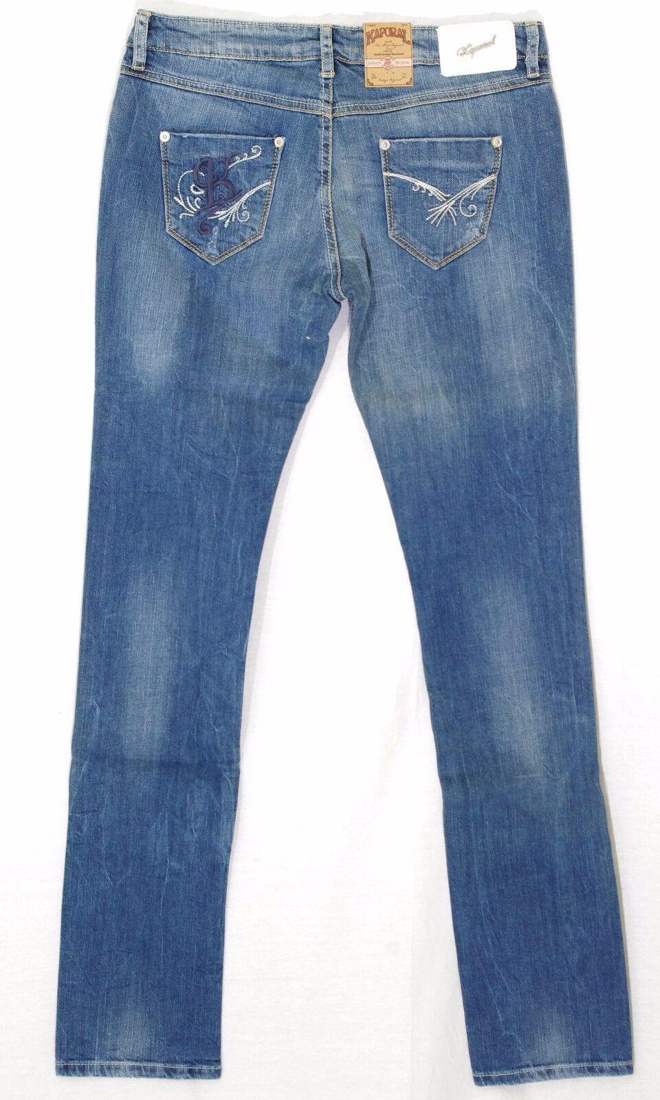 Détails sur KAPORAL jeans droit regular Junior Fille MAY New Age taille 16 Ans