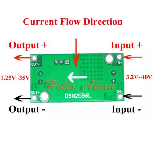 Details about  /3a DC-DC Buck Step Down Regulator 3.3v 5v 6v 9v 12v 24v for Solar Car Battery show original title