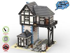 Eisenbahn-Stellwerk  - PDF-Bauanleitung- für LEGO® Steine [71006 10244 71016] V2