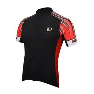 PEARL IZUMI Podium Elite Bike Jersey MEN S MEDIUM 41121705 Black Red ... ee7455f68