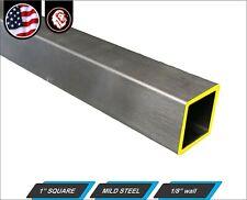 1 Square Metal Tube Mild Steel 11 Gauge Erw 48 Long 4 Ft