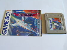 Nemesis GAMEBOY COLOR / ADVANCE / SP GBA GAME
