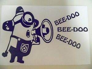 Minion-Despicable-Me-Beedoo-Funny-Car-Truck-Window-Vinyl-Decal-Sticker