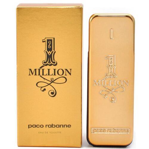 1 von 1 - Paco Rabanne 1 One Million 100ml EDT Eau de Toilette Spray NEU/OVP