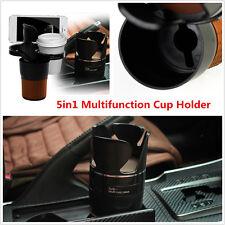 5in1 Car Multifunction Cup Holder Phone Pen Case Holder Bottle Storage Organizer