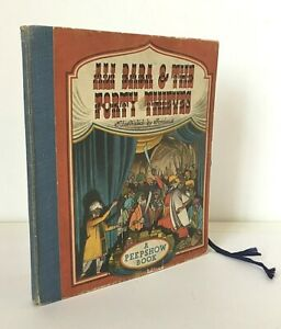 ALI BABA & THE FORTY THIEVES Ionicus (ill.) 1947