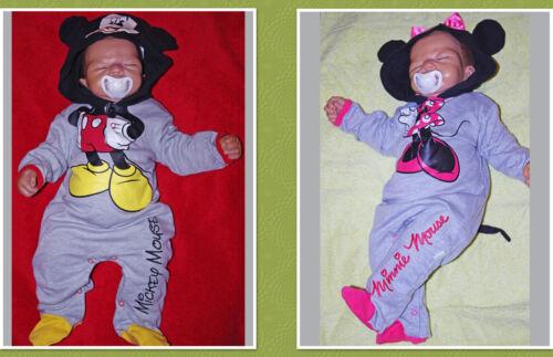 Minnie  Gr.68-86 DISNEY  Strampler Jumper Overall Mickey