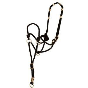 Horse Lead Ropes Cotton Weave Rein Halters Braided Reins Rope 2.5 m Brown