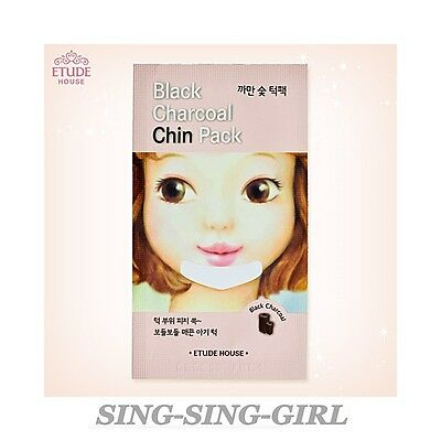 ETUDE HOUSE Black Charcoal Chin Pack 3 pcs sing-sing-girl